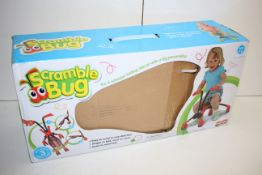 BOXED MOOKIE SCRAMBLE BUG 4 WHEELED RIDE ON RRP £29.95Condition ReportAppraisal Available on