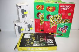 12X ASSORTED BOXED ITEMS TO INCLUDE JELLY BELLY, XQISIT & OTHER (IMAGE DEPICTS STOCK)Condition
