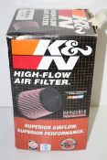 BOXED K&N HIGH-FLOW AIR FILTER E-2993 RRP £56.73Condition ReportAppraisal Available on Request-