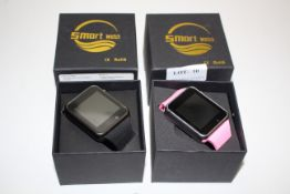 2X BOXED ASSORTED SMART WATCHES (IMAGE DEPICTS STOCK)Condition ReportAppraisal Available on Request-