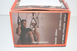 BOXED FITNESS RESISTANCE TRAINER KIT RRP £19.99Condition ReportAppraisal Available on Request- All