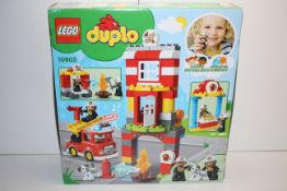 BOXED LEGO DUPLO FIRE STATION 10903 RRP £39.99Condition ReportAppraisal Available on Request- All