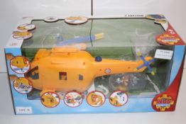 BOXED FIREMAN SAM WALLABY 2 HELICOPTER TOY RRP £39.95Condition ReportAppraisal Available on Request-