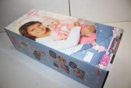BOXED ZAPF CREATIONS BABY ANNABELL DOLL RRP £45.00Condition ReportAppraisal Available on Request-