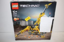 BOXED LEGO TECHNIC COMPACT CRAWLER CRANE 42097 RRP £79.99Condition ReportAppraisal Available on