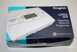 BOXED DRAYTON 5DAY/2DAY ELECTRONIC PROGRAMMER MODEL: LP522 RRP £76.21Condition ReportAppraisal