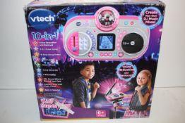 BOXED VTECH 10-IN-1 KIDISUPERSTAR KARAOKE MACHINE RRP £49.99Condition ReportAppraisal Available on