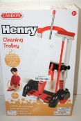 BOXED HENRY CLEANING TROLLEY RRP £28.99Condition ReportAppraisal Available on Request- All Items are