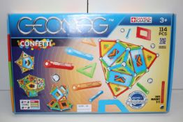 BOXED GEOMAG CONFETTI STEM SET RRP £26.99Condition ReportAppraisal Available on Request- All Items