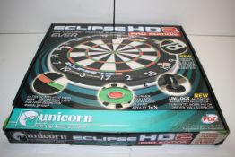 BOXED UNICORN ECLIPSE HD 2 PRO EDITION DART BOARD RRP £39.99Condition ReportAppraisal Available on
