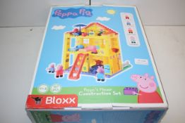 BOXED PEPPA PIG BLOXX PEPPA'S HOUSE CONSTRUCTION SET RRP £38.56Condition ReportAppraisal Available
