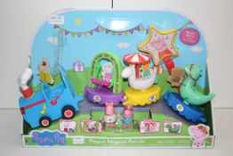 BOXED PEPPA PIG PEPPA'S MAGICAL PARADE RRP £38.99Condition ReportAppraisal Available on Request- All