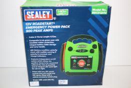 BOXED SEALEY 12V ROADSTART EMERGENCY POWER PACK 900 PEAK AMPS MODEL NO. RS1312HV RRP £68.93Condition