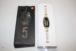2X ASSORTED BOXED SMART WATCHES (IMAGE DEPICTS STOCK)Condition ReportAppraisal Available on Request-