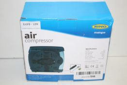 BOXED RING AIR COMPRESSOR ANALOGUE RRP £15.99Condition ReportAppraisal Available on Request- All