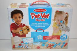 BOXED MELISSA & DOUG PET VET PLAY SET RRP £29.99Condition ReportAppraisal Available on Request-