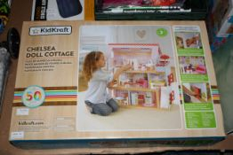 BOXED KIDKRAFT CHELSEA DOLL COTTAGE RRP £169.00Condition ReportAppraisal Available on Request- All