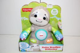 BOXED FISHER PRICE BABY BRADIPO BALLERINO RRP £24.99Condition ReportAppraisal Available on