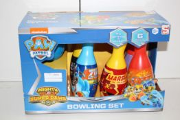 BOXED PAW PATROL BOWLING SET RRP £12.99Condition ReportAppraisal Available on Request- All Items are