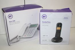 2X BOXED BT HOME PHONE SYSTEMS