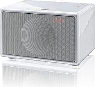 BOXED G-LAB GENEVA CLASSIC / S WHITE FM/DAB+ MODEL: A151 RRP £269.00