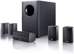 BOXED CANTON MOVIE 75 HOME CINEMA SYSTEM RRP £316.51