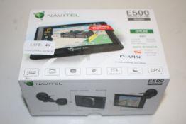 BOXED NAVITEL E500 MAGNETIC TMC NAVIGATOR RRP £82.90