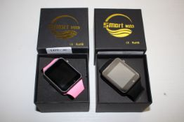2X BOXED SMART WATCHES