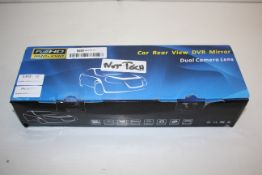 BOXED FULL HD CAR REAR VIEW DVR MIRROR DUAL CAMERA