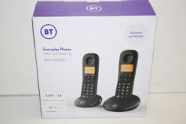 BOXED BT EVERYDAY PHONE WITH CALL BLOCKING TWO HAN