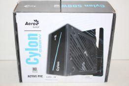 BOXED AERO COOL CYLON 500W ACTIVE PFC RRP £37.00