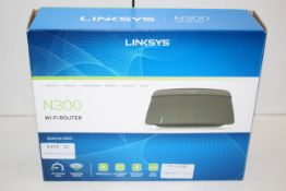 BOXED LINKSYS N300 WIU-FI ROUTER RRP £63.00