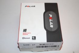 BOXED POLAR H9 HEART RATE SENSOR RRP £52.50Condition ReportAppraisal Available on Request- All Items