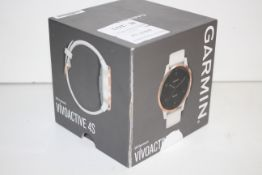 BOXED GARMIN VIVOACTIVE 4S SMART WATCH RRP £229.00Condition ReportAppraisal Available on Request-