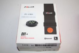 BOXED POLAR OH1+ OPTICAL HEART RATE SENSOR BLUETOOTH RRP £50.99Condition ReportAppraisal Available