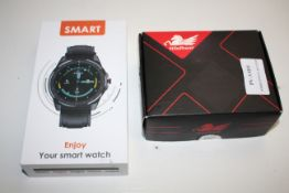 2X ASSORTED BOXED ITEMS TO INCLUDE SMART WATCH & UNDER MIRROR LED LIGHTCondition ReportAppraisal