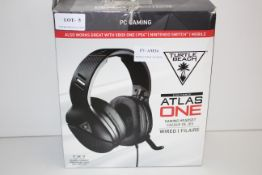 BOXED TURTLE BEACH EAR FORCE ATLAS ONE GAMING HEADSET WIRED RRP £71.00Condition ReportAppraisal