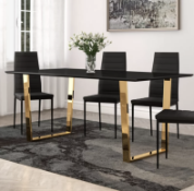 Severus Dining Table By Canora Grey (AS SEEN IN WAYFAIR) TABLE ONLY RRP £449.99 Condition