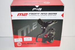 BOXED CLARKS F+R M2 FRONT AND REAR HYDRAULIC BRAKE SYSTEM RRP £57.99Condition ReportAppraisal