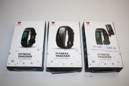 3X BOXED ASSORTED FITNESS TRACKERS WITH HEART RATE MONITORING Condition ReportAppraisal Available on
