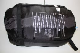BAGGED DOUBLE SLEEPING BAG Y7560 RRP £28.49Condition ReportAppraisal Available on Request- All Items