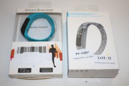 2X ASSORTED BOXED ITEMS TO INCLUDE SMART BRACELET & HONOR BAND 5 ACTIVITY TRACKER Condition