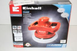 BOXED EINHELL CAR POLISHING MACHINE MODEL: CC-PO 90 RRP £40.52Condition ReportAppraisal Available on
