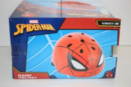 BOXED MARVEL SPIDERMAN RAMP HELMET 54-58CMCondition ReportAppraisal Available on Request- All