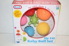 BOXED A-TO-Z MY 1ST BABY BALL SET Condition ReportAppraisal Available on Request- All Items are