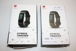2X BOXED FITNESS TRACKERS - YOUR HEALTH TRACKER Condition ReportAppraisal Available on Request-