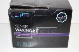 BOXED SENSIS WAXING KIT COMPLETE PROFESSIONAL EFFECTIVE RRP £49.99Condition ReportAppraisal
