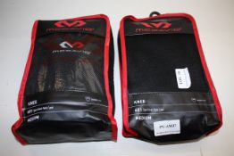 3X MCDAVID SPORT KNEE PADS 601 MEDIUM COMBINED RRP £28.50Condition ReportAppraisal Available on