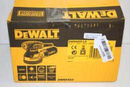 BOXED DEWALT PERFORM PROTECT DWE6423 125MM ORBITAL SANDER VARIABLE SPEED RRP £99.99Condition