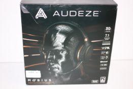 BOXED AUDEZE MOBIUS IMMERSIVE 3D CINEMATIC AUDIO HEADPHONE 7.1 SURROUND RRP £349.00Condition